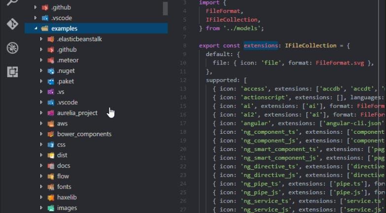 vscode-icons extension para agregar iconos a mis archivos de visual studio code